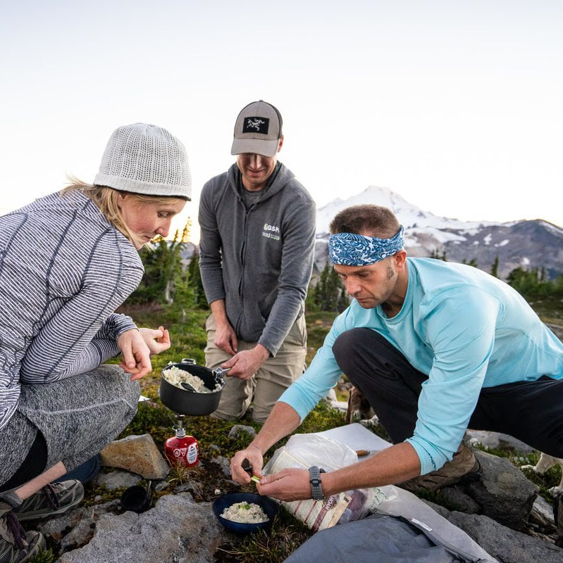 Chef Corso best, easy hiking backpacking camping picnic recipes meals
