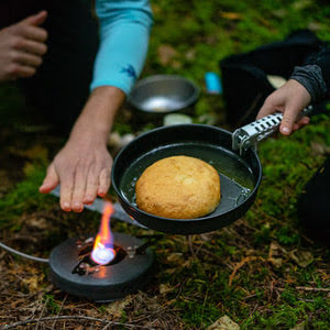 seasoned hiker. fast easy camp meals cooking with kids