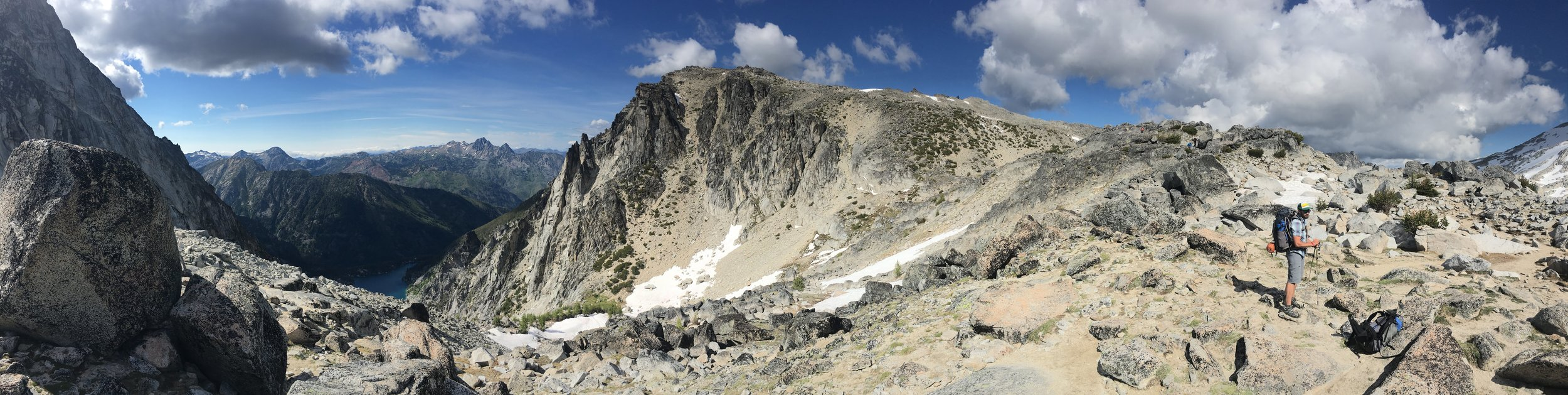 Top of Asgard Pass