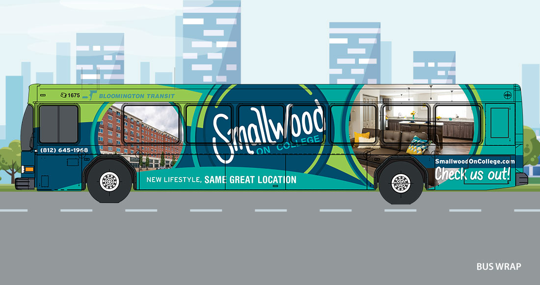 PEP: Smallwood on College Rebranding: Bus Wrap