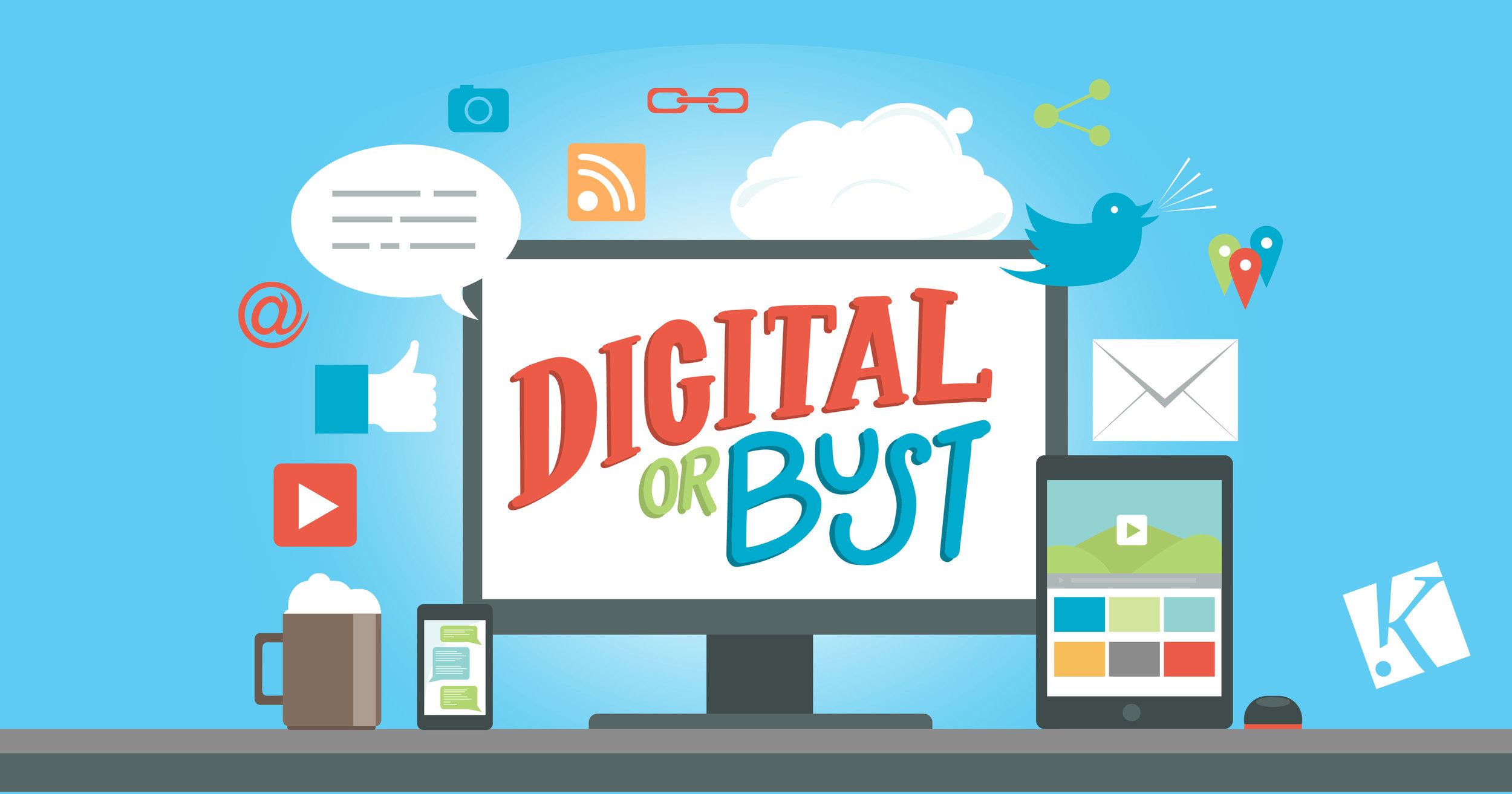DIGITAL OR BUST: THE END OF THE TRADITIONAL AD AGENCY