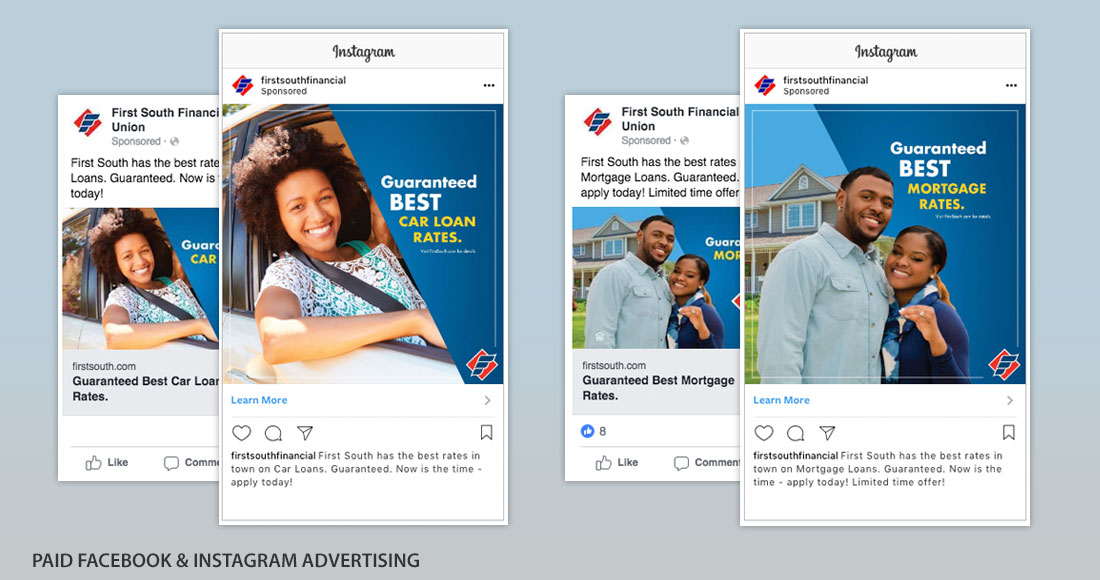 First South: Guaranteed Best Rates Campaign: Social Media