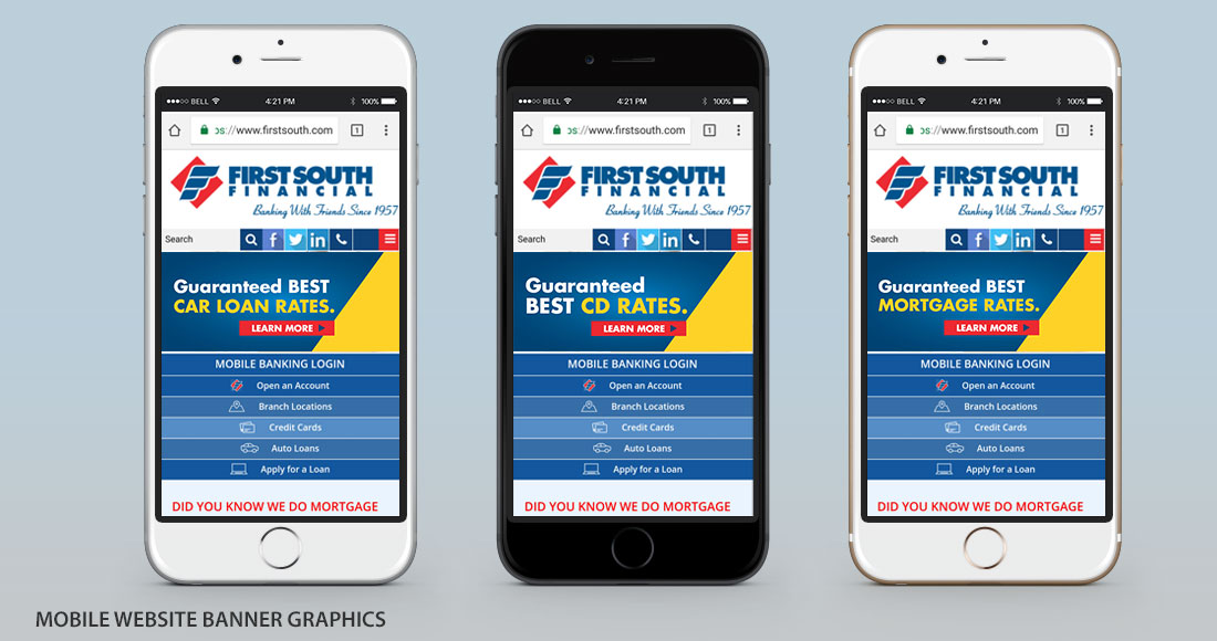 First South: Guaranteed Best Rates Campaign