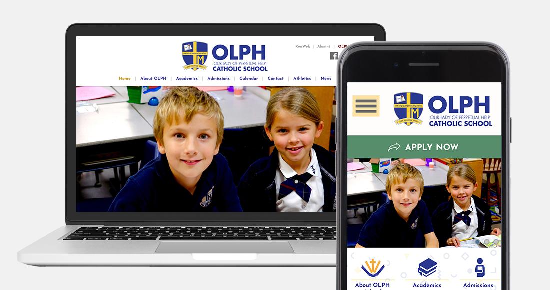 Our Lady of Perpetual Help School: Website