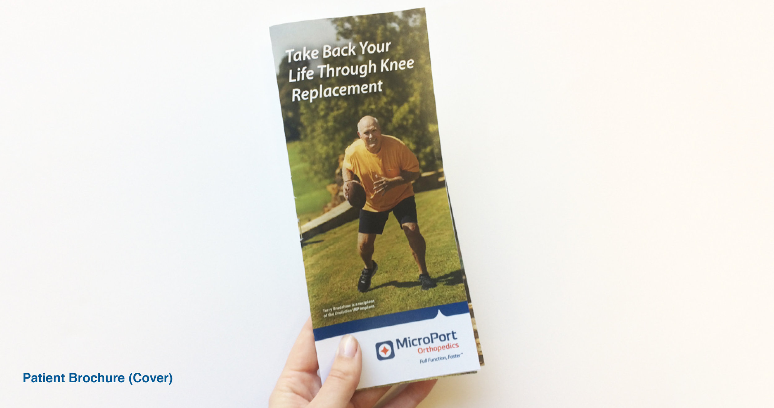 MicroPort: EvolutionMP Patient Marketing Campaign: Patient Brochure