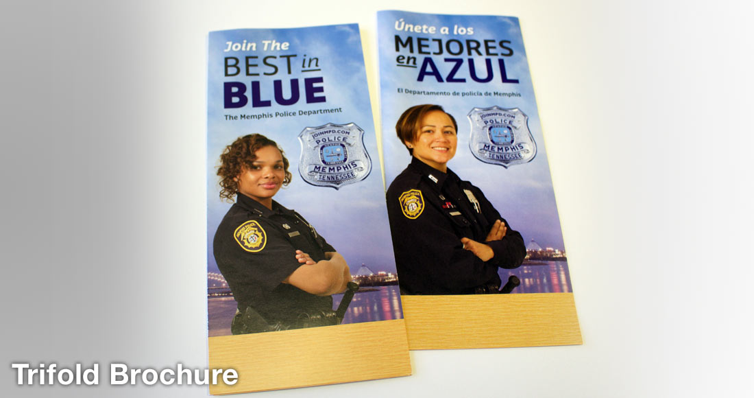 Memphis Police Department Recruiting Campaign: Brochure