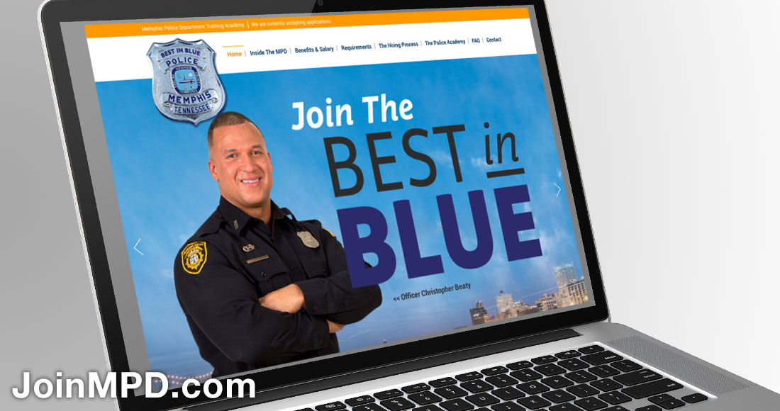 Memphis Police Department Recruiting Campaign: Website