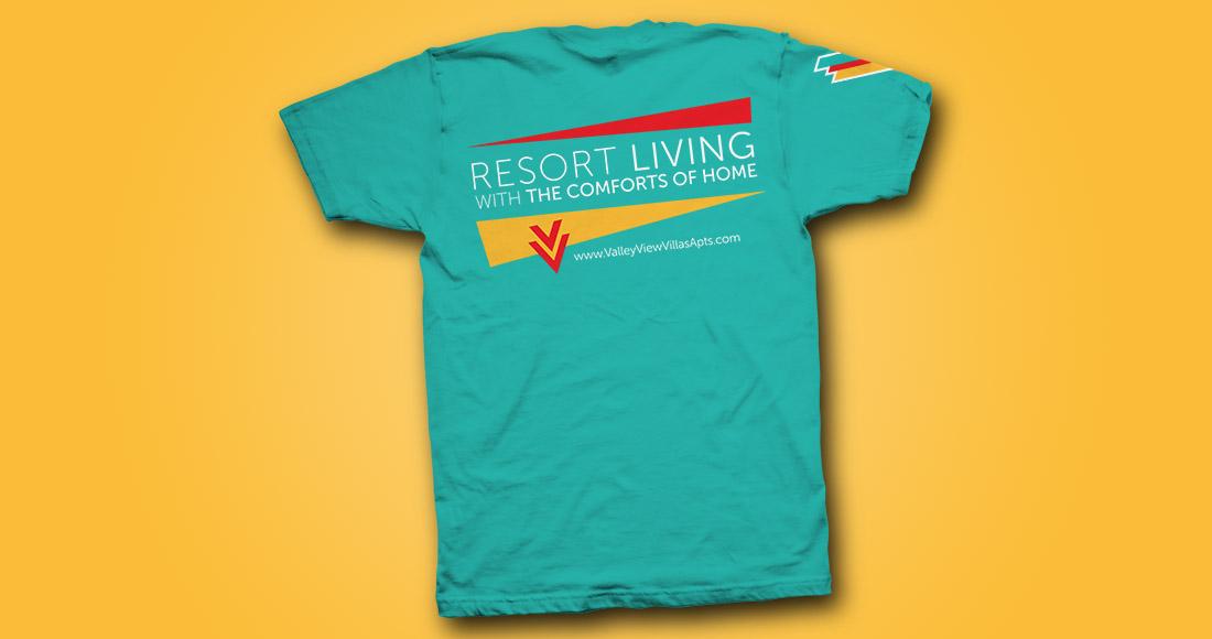 Valley View Villas: Rebranding: T-shirt