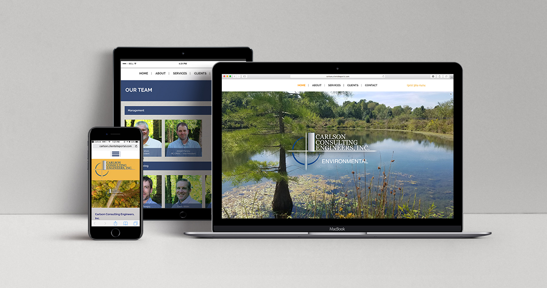 Carlson Consulting Engineers, Inc.: Website
