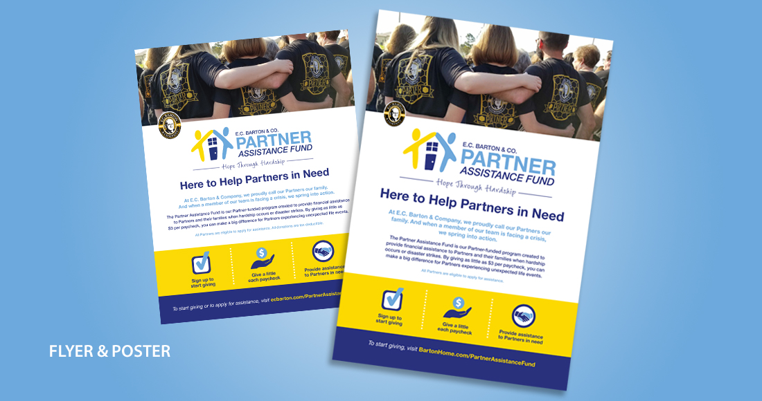 ECB Partner Assistance Fund Flyer and Poster