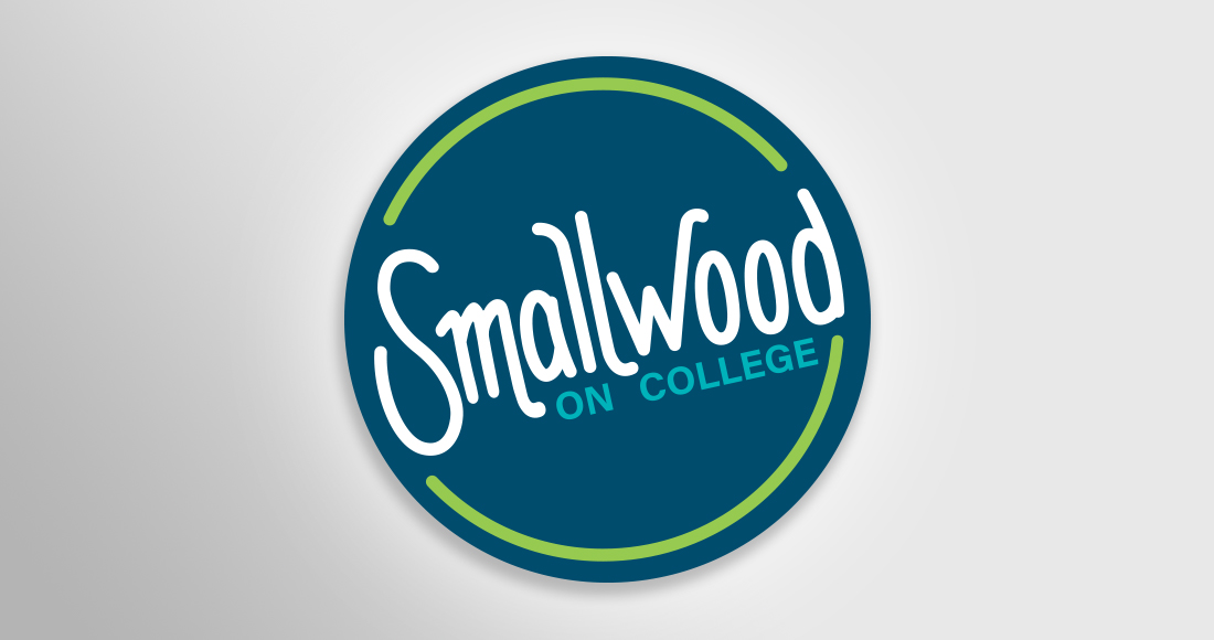 Smallwood on College Logo