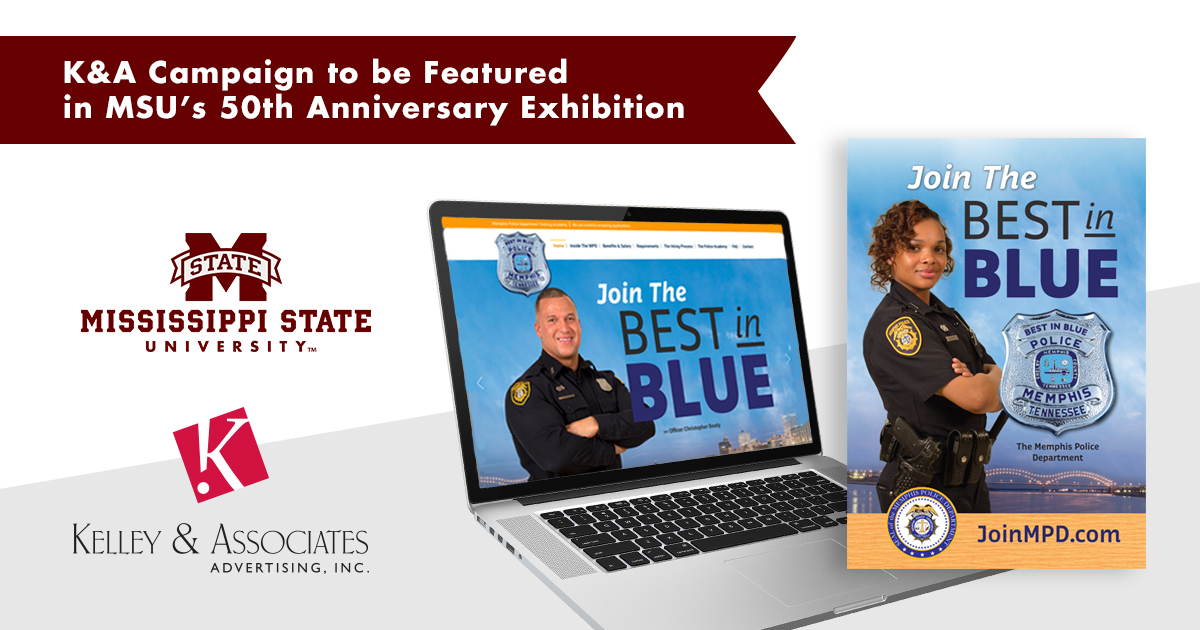 K&A CAMPAIGN TO BE FEATURED IN MSU'S 50TH ANNIVERSARY EXHIBITION