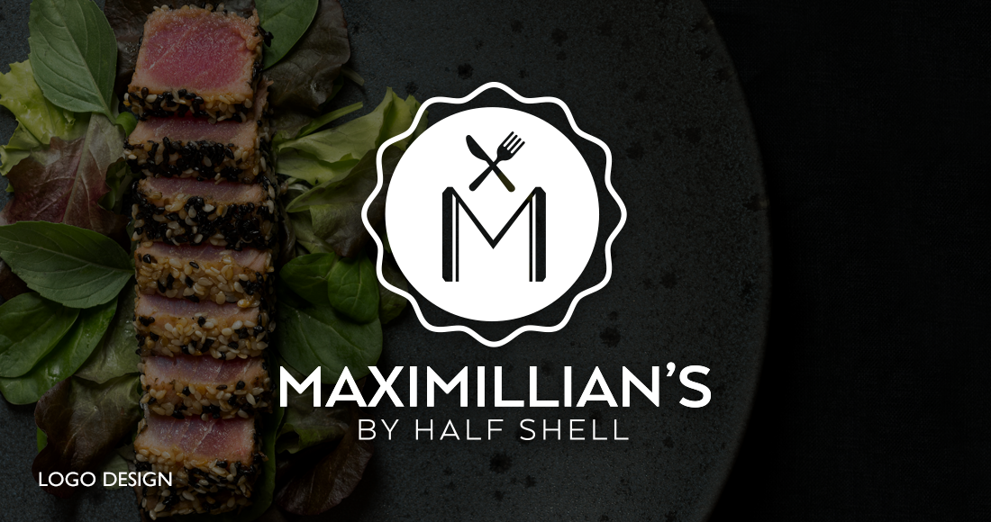 Maximillian's by Half Shell: Branding - Logo Design