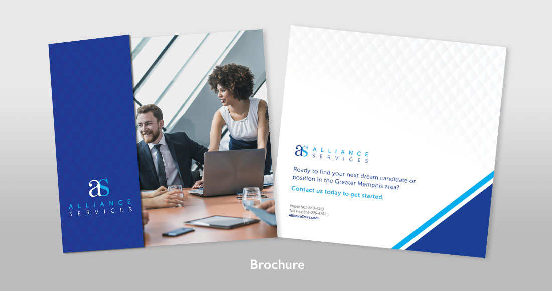 Alliance Services Brochure design