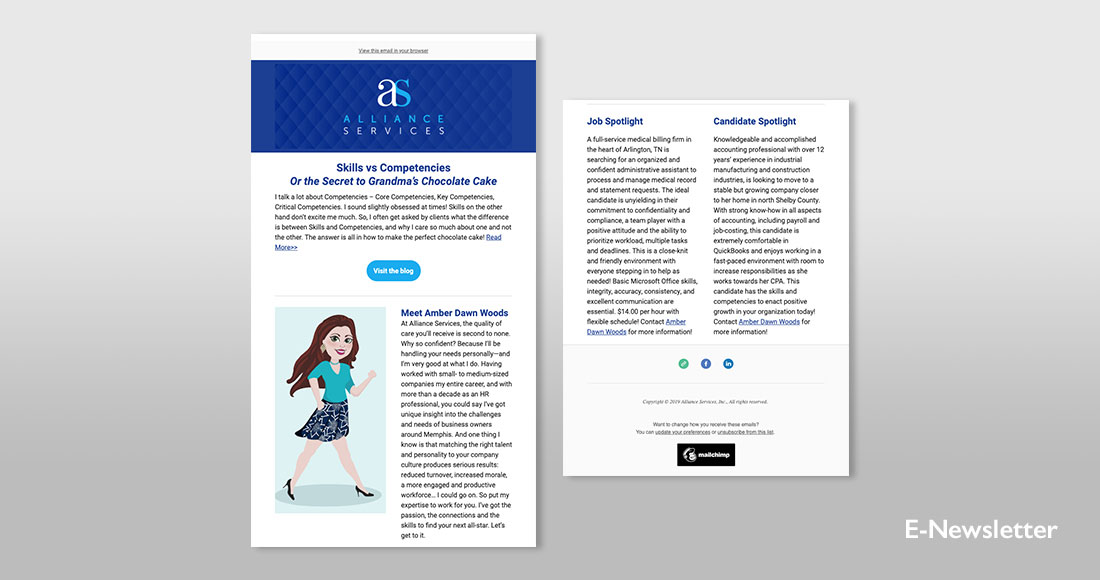 Alliance Services Email Blast Template