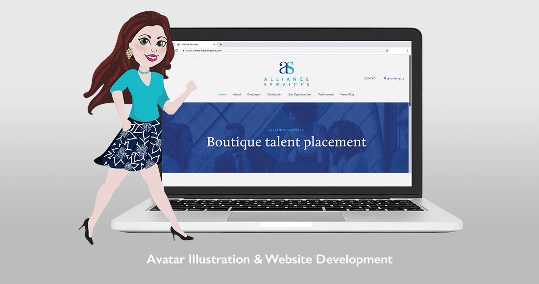 Alliance Services Website and Avatar