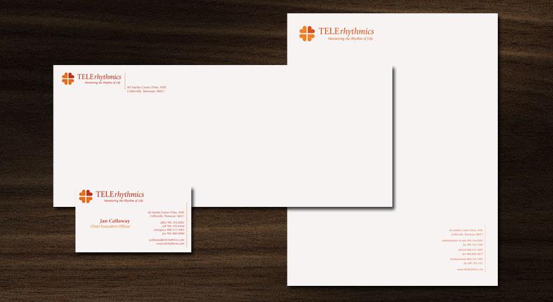 TELErhythmics Branding: Letterhead Package