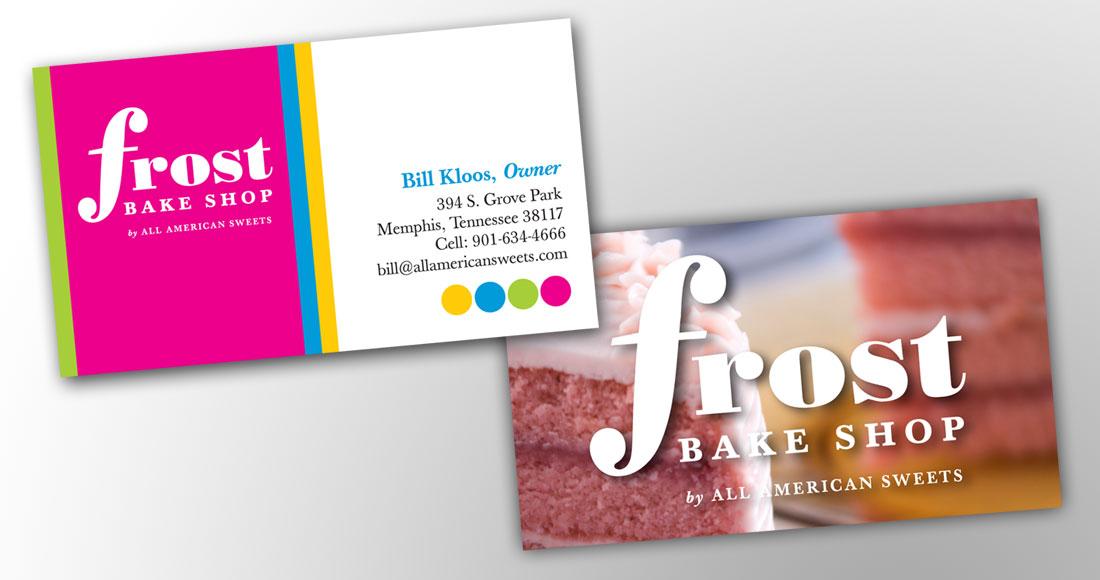 Frost Bake Shop: Branding: Business Card