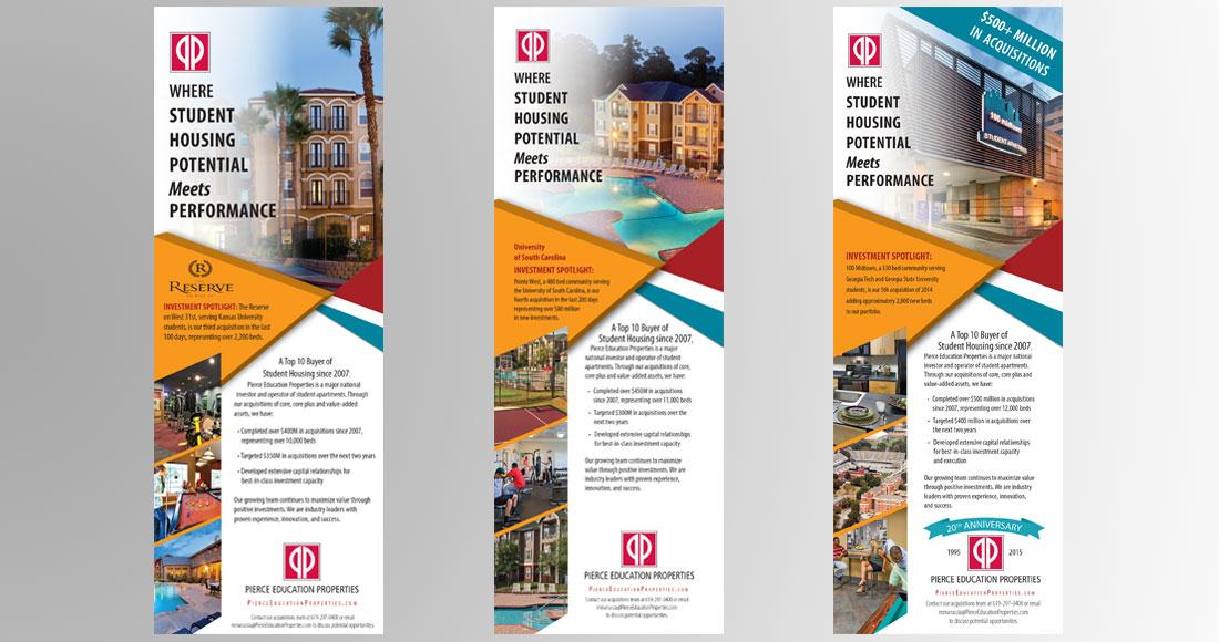 Pierce Education Properties: Print Ads
