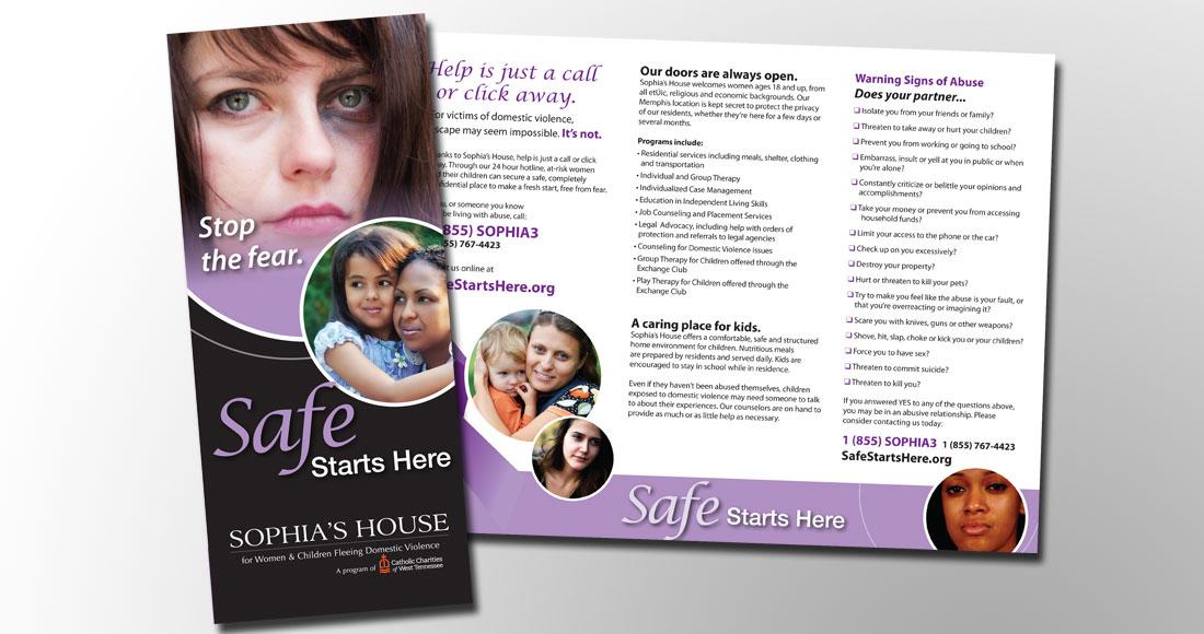 CCWTN: Safe Starts Here: Brochure