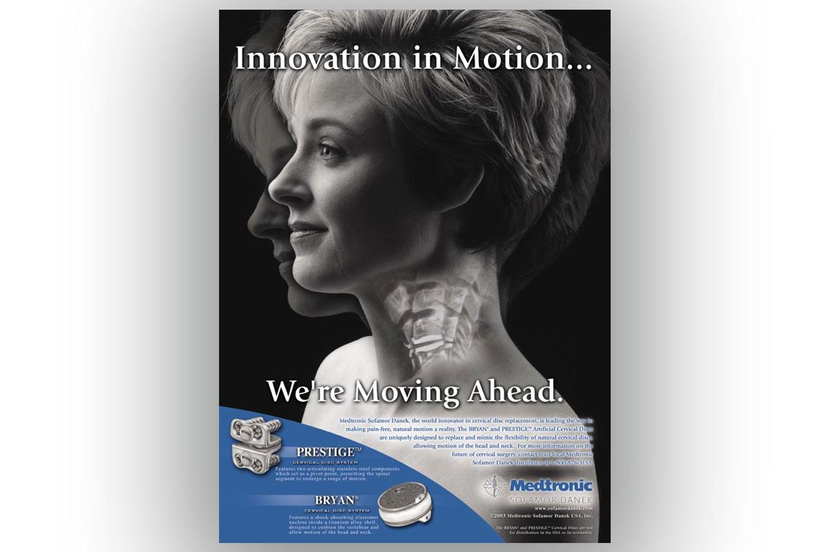 Medtronic Sofamor Danek Print Ad