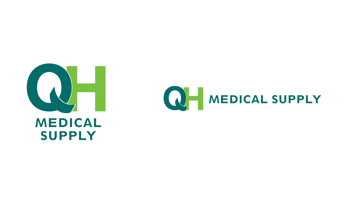 QH Medical Supply Branding: Logo
