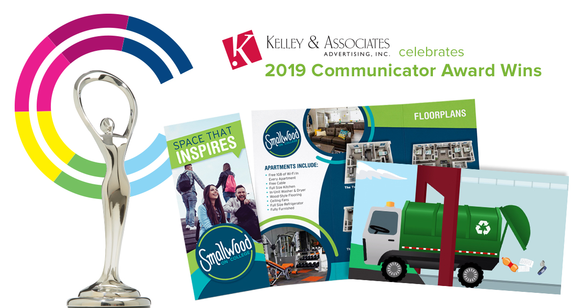 Kelley & Associates Takes Home Two 2019 Communicator Awards