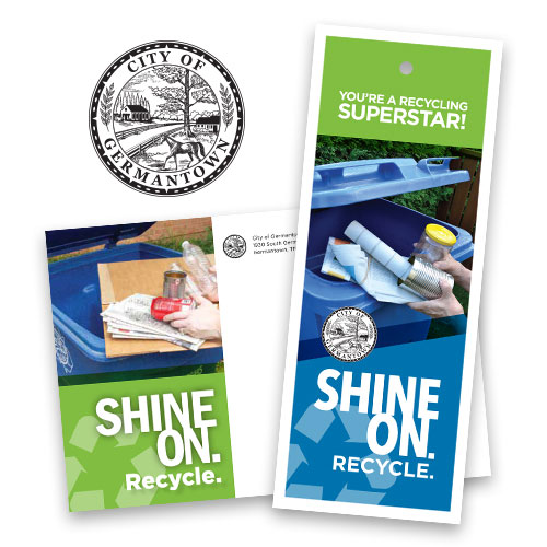 City of Germantown Recycling Campaign