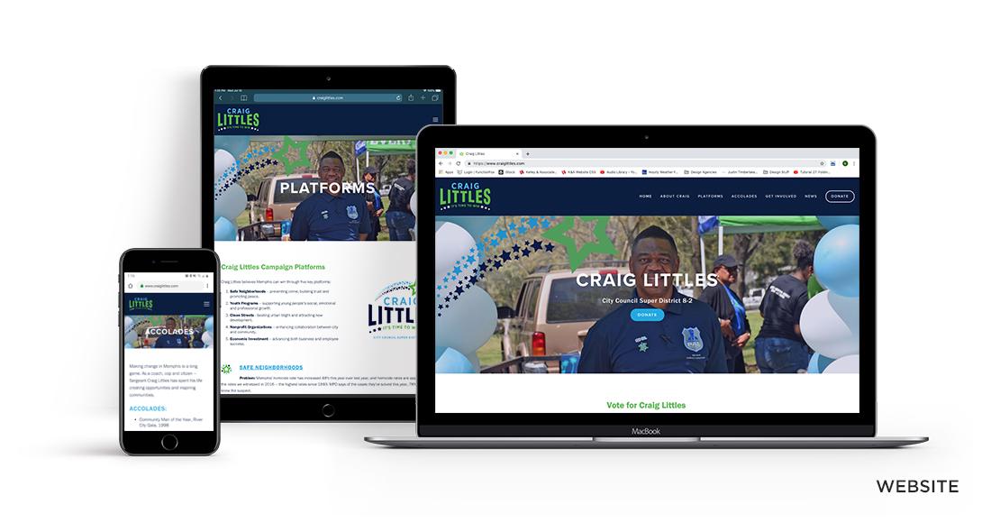 Craig Littles Campaign Website