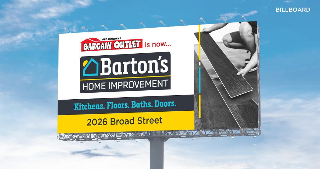 Barton's Home Improvement Billboard