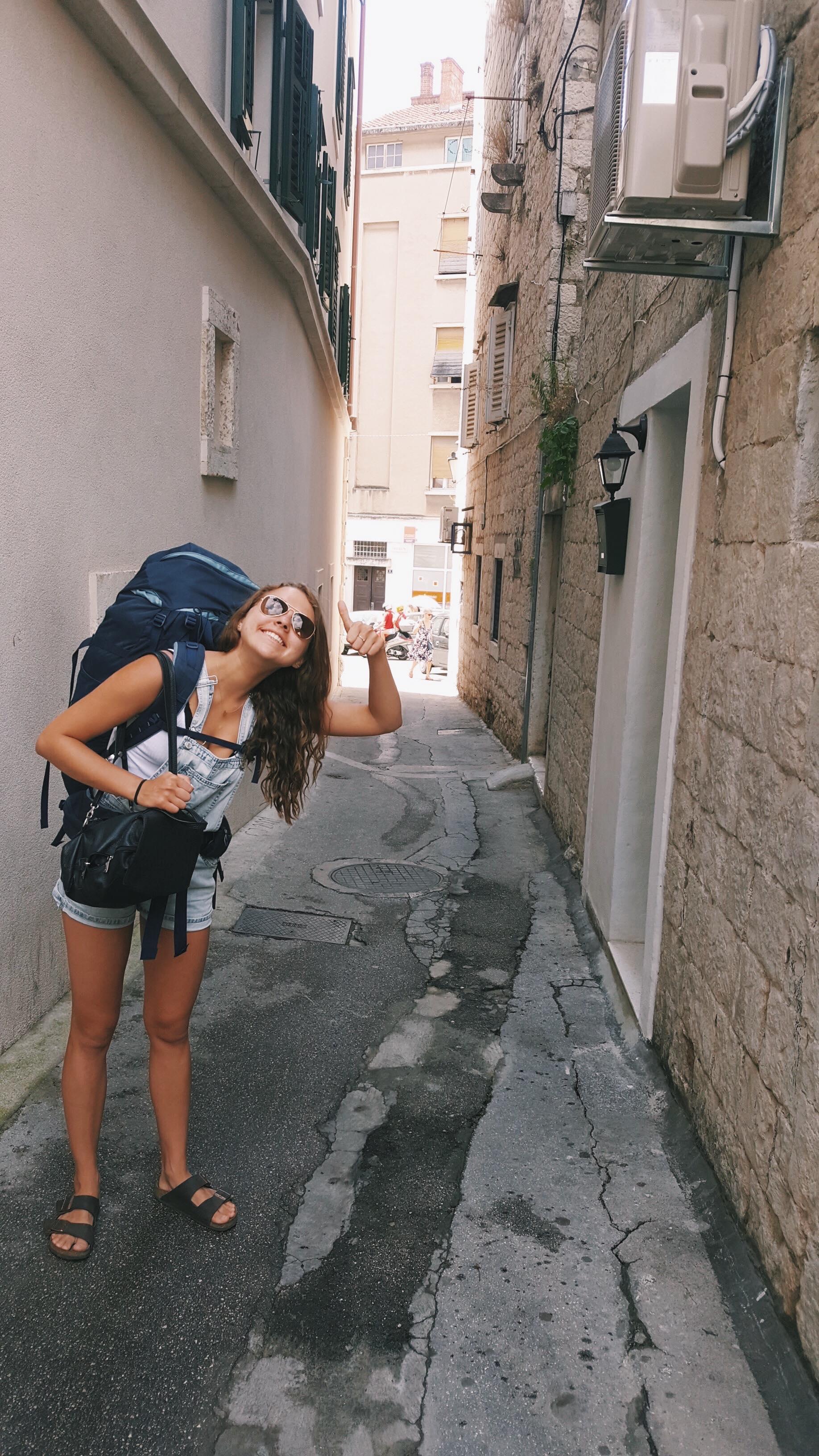 Streets of Split - Croatia