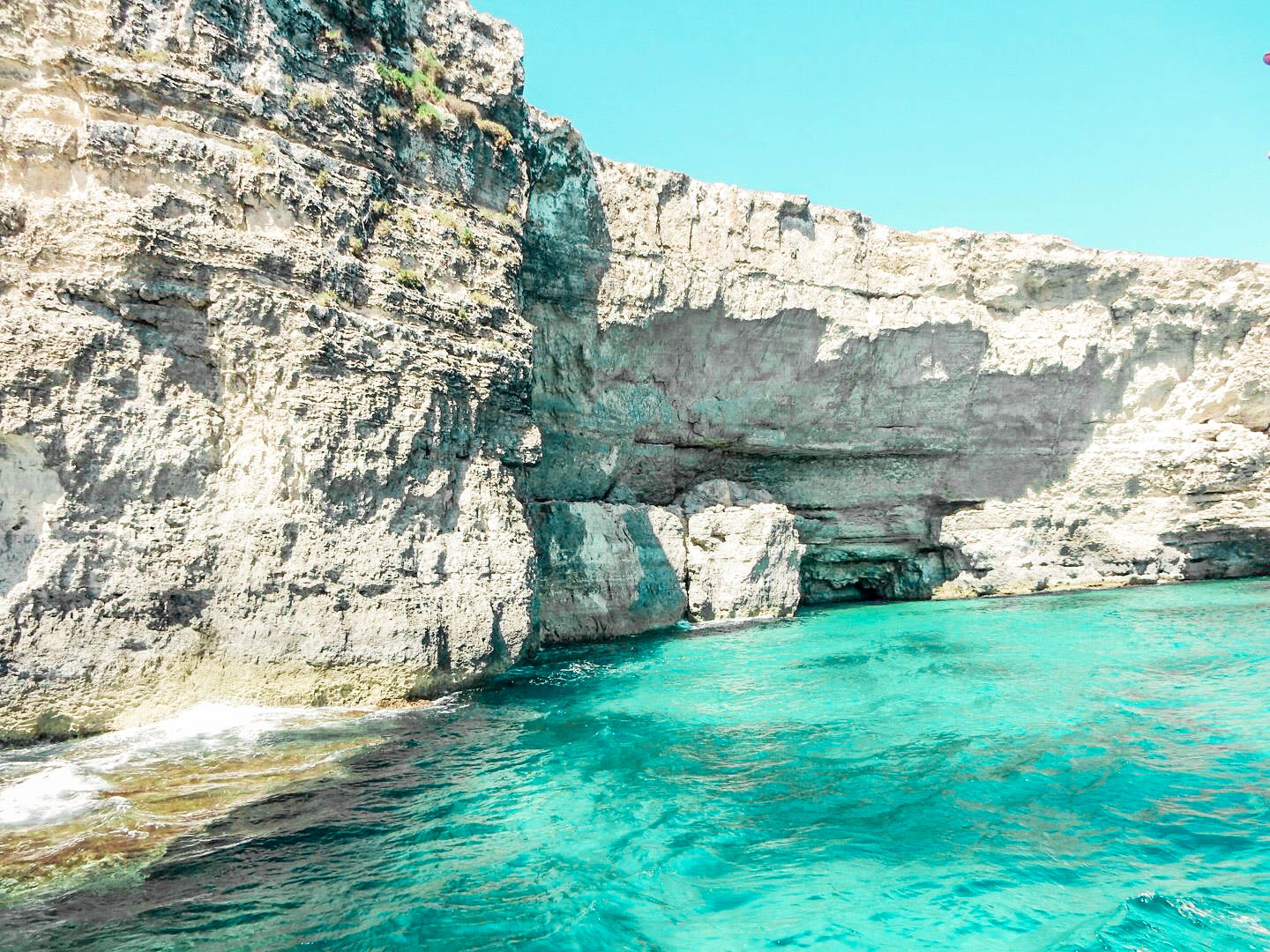 south channels of comino island