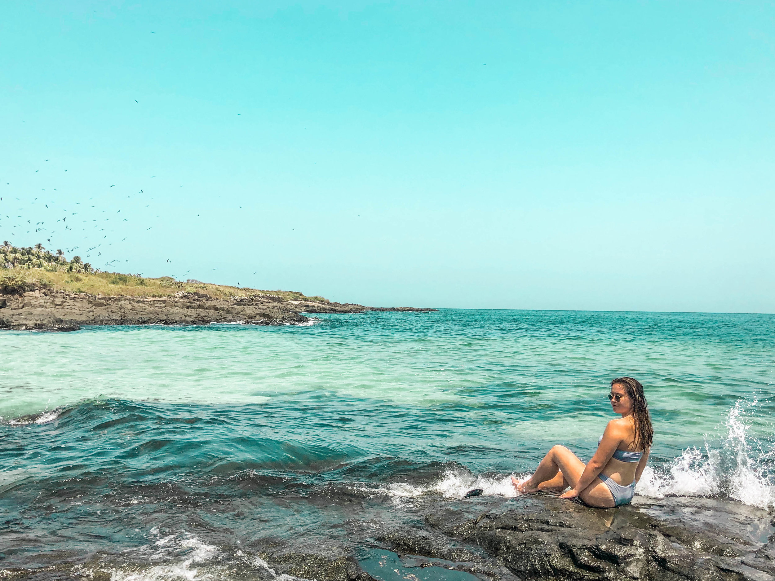 Monica at isla iguana