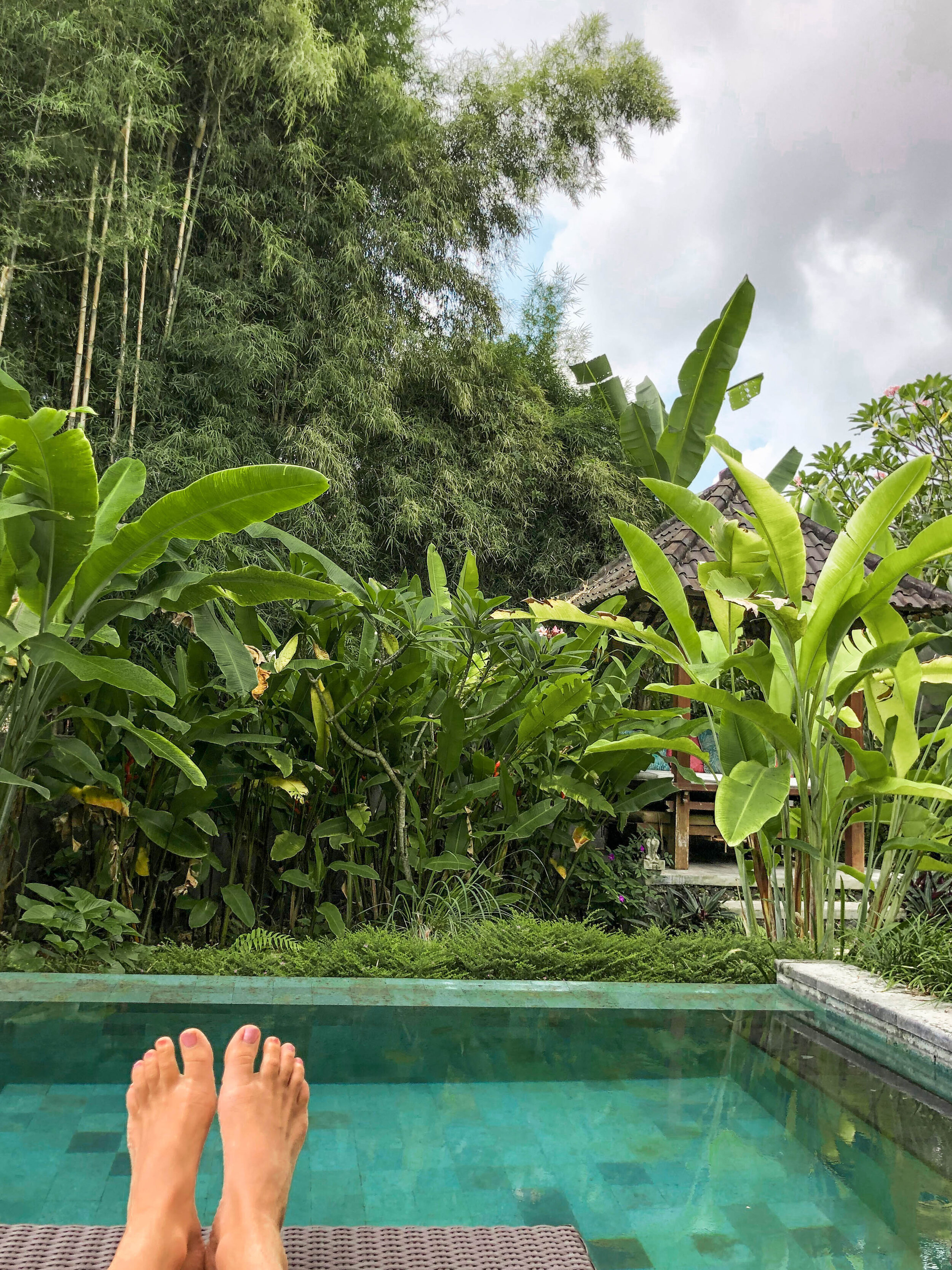 This was the villa we stayed at in Ubud. The hosts were very accommodating & even made us a bfast every morning