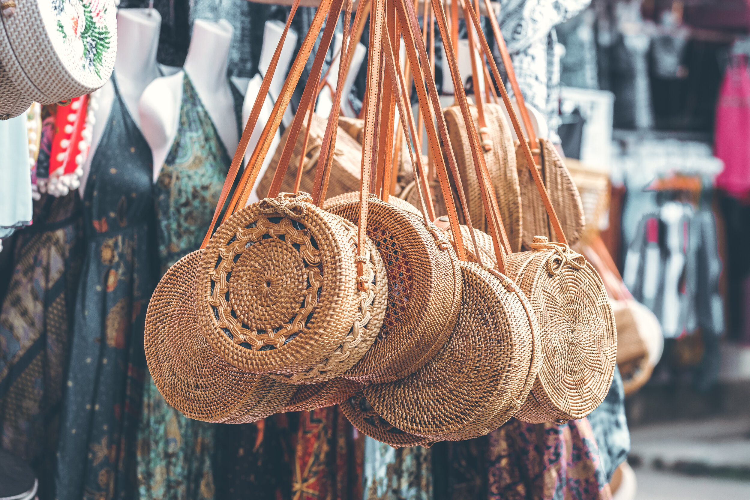 Bali market finds