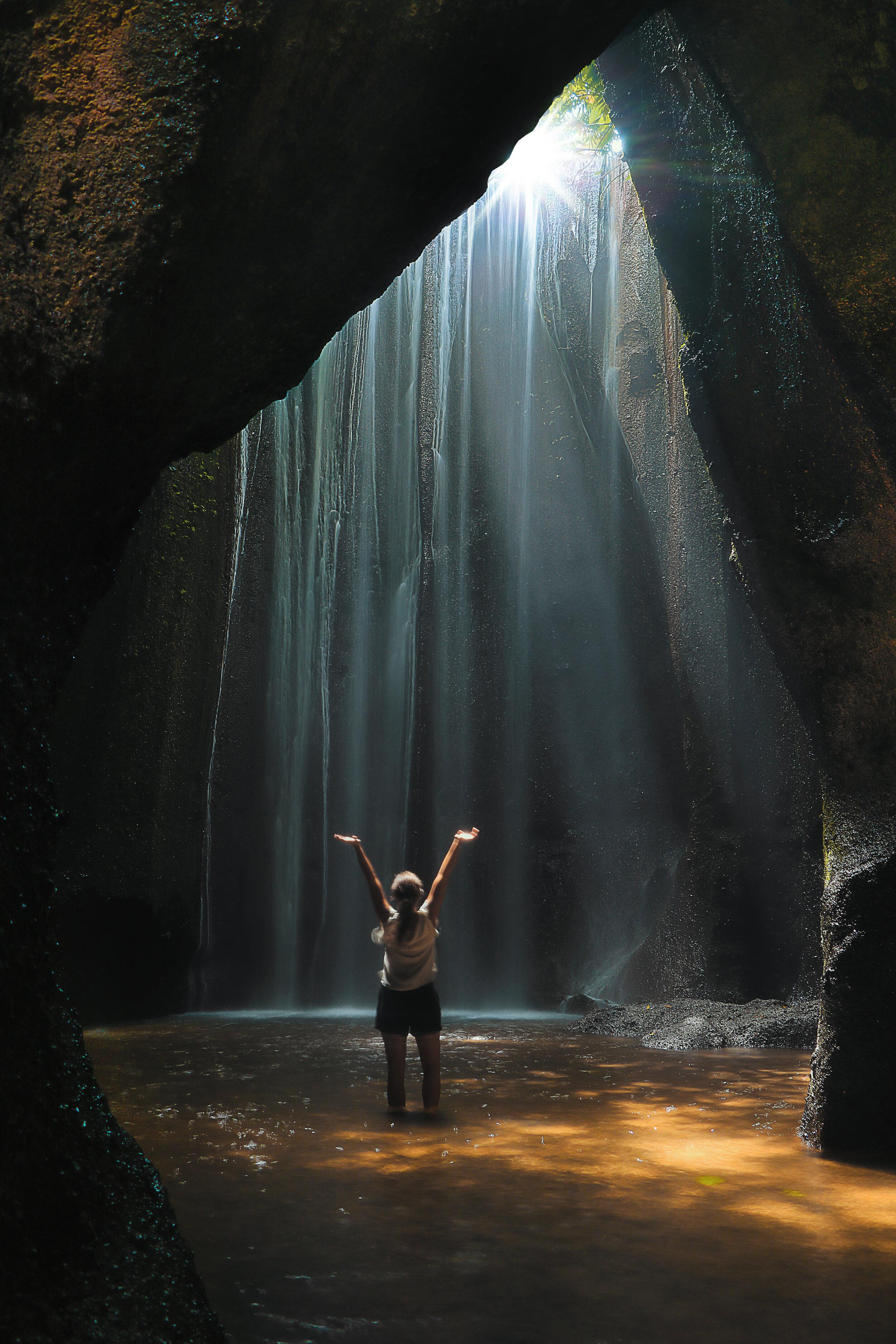Tukad Cepung Waterfalls