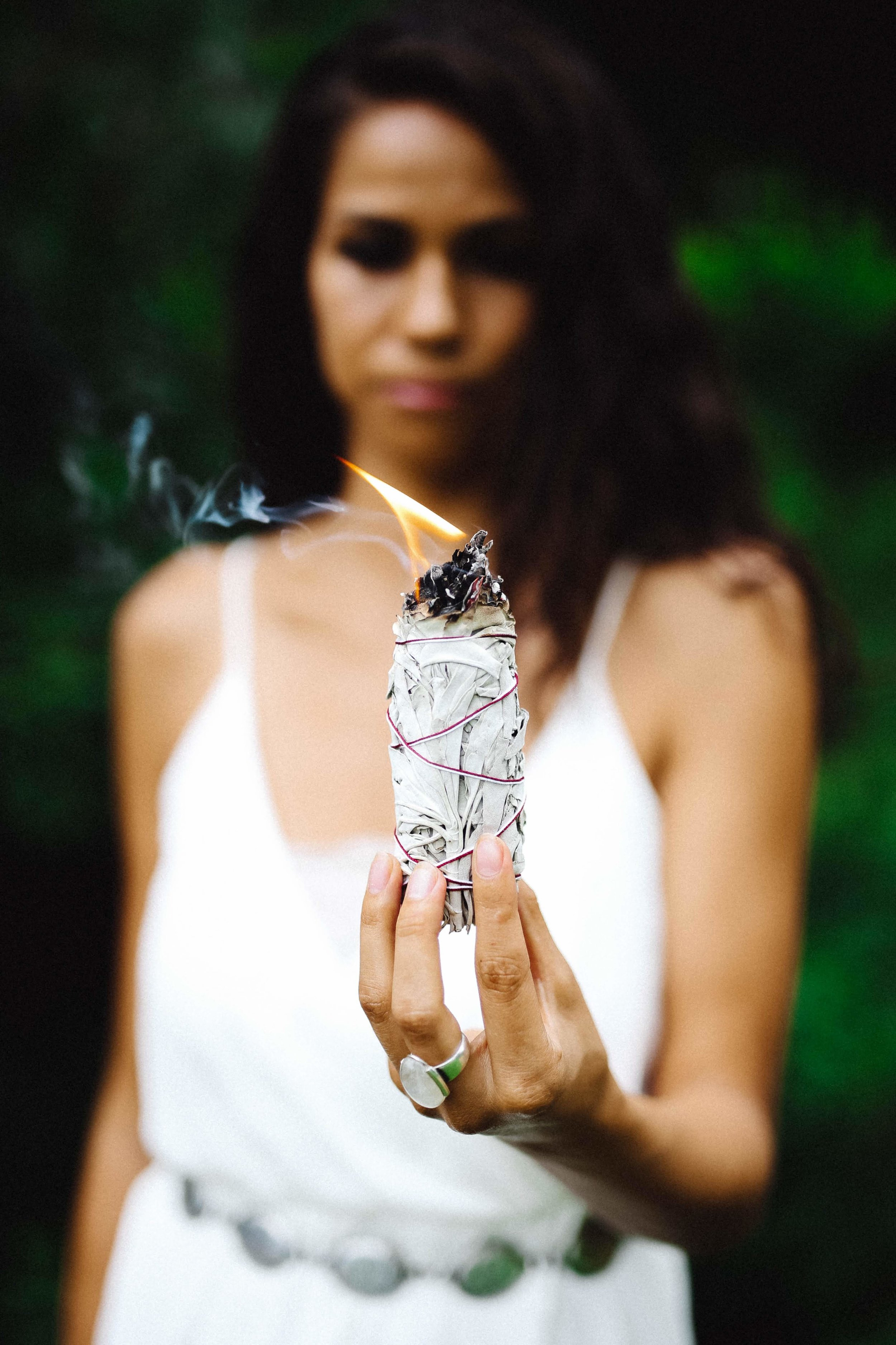 sage and healing vibes