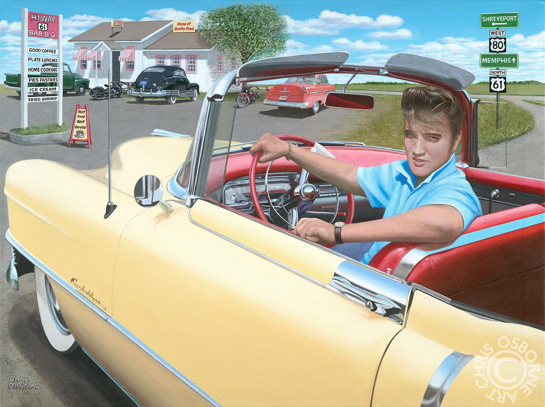 Elvis Presley | 1954 Cadillac