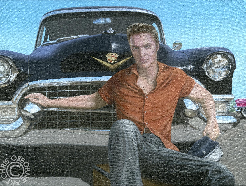 Elvis Presley | 1955 Cadillac