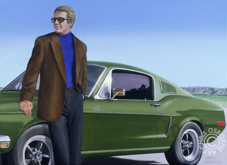 "Steve McQueen | ""Bullitt"" Mustang"