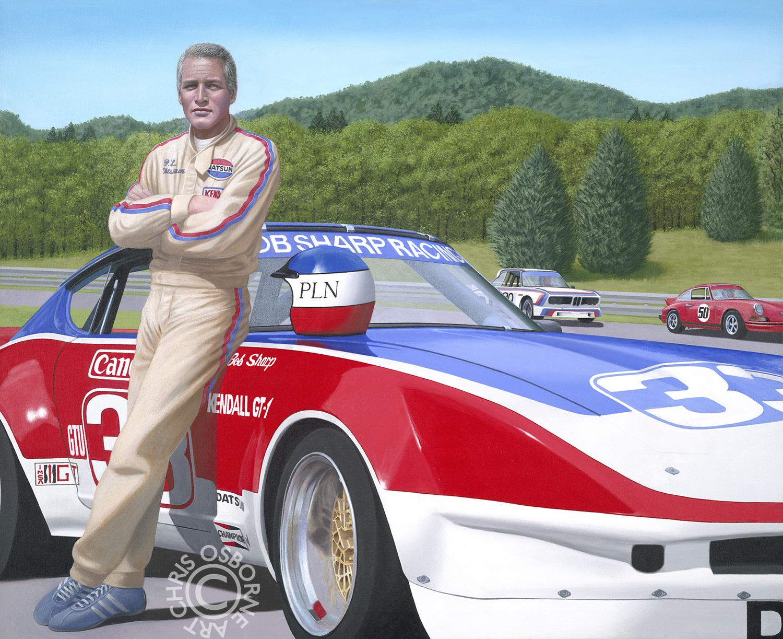 Paul Newman | #33 Bob Sharp Racing Datsun