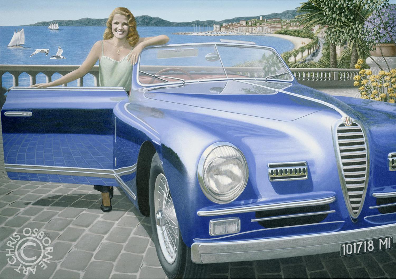 Rita Hayworth | 1948 Alfa Romeo
