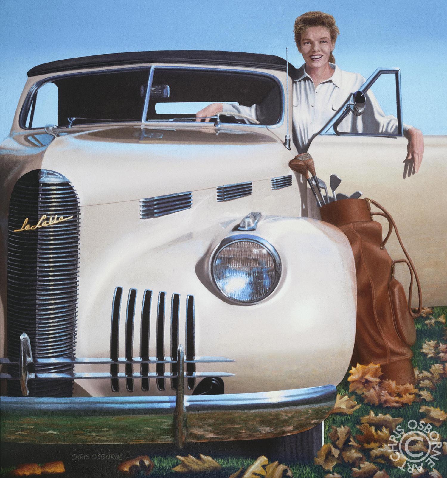 Katharine Hepburn | 1940 LaSalle