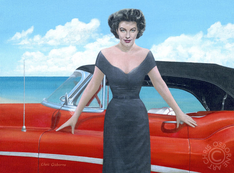 Ava Gardner | 1953 Buick Skylark