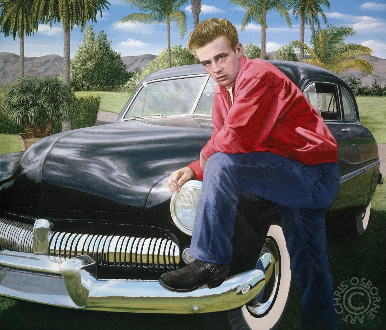 James Dean | 1949 Mercury