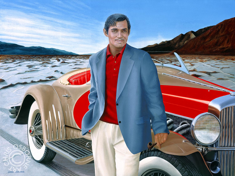 Clark Gable | 1935 SSJ Duesenberg