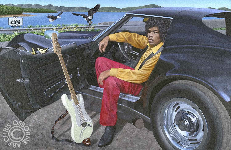 Jimi Hendrix | Corvette