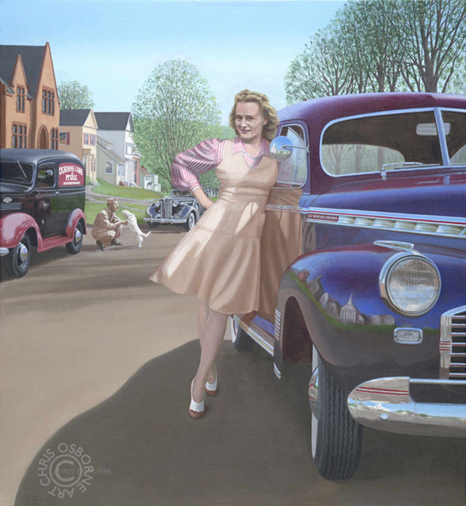 Emma Douglas Osborne | 1941 Chevrolet