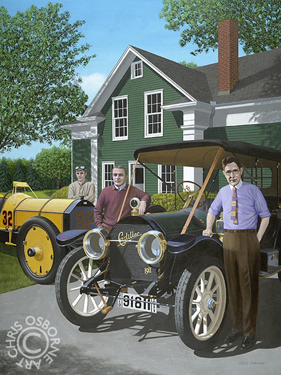 Charles Kettering & Edward Deeds | 1911 Cadillac