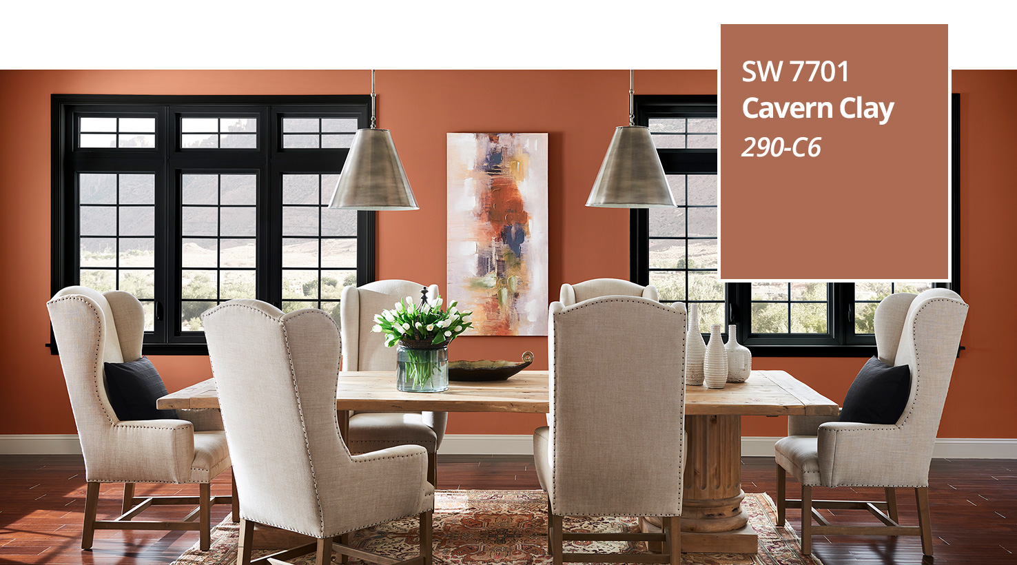 2019 Color of the year - Dining Room